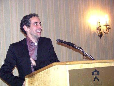 The 56th Alfred Korzybski Memorial Lecturer, Douglas Rushkoff, presenting