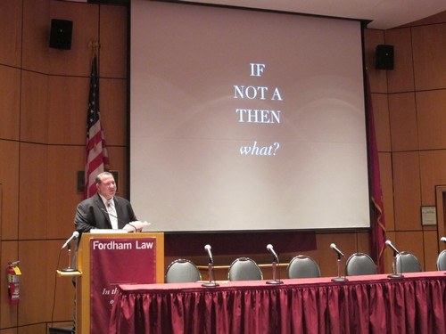 """Lance Strate, Fordham University / Institute of General Semantics<br>\""""If Not A, Then E\"""""""